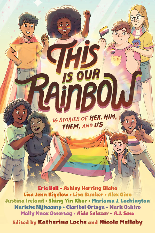 Preorder the first ever LGBTQIA+ Middle Grade anthology now!